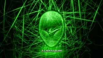 Video games alienware dell lasers wallpaper