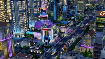 Video games casino simcity wallpaper