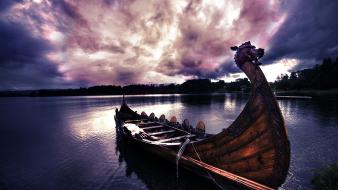 Vikings boats wallpaper