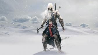 Winter snow connor kenway assassins creed iii wallpaper