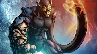 Artwork marvel comics super skrull skrulls wallpaper
