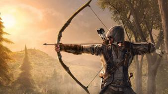 Assassins creed archers bows 3 pc games connor Wallpaper