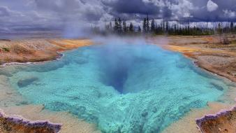Blue hole wyoming yellowstone Wallpaper