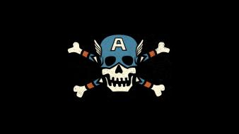 Captain america jolly roger wallpaper