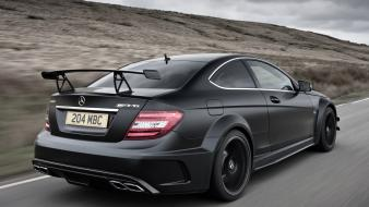 Cars amg mercedes-benz c63 black edition wallpaper
