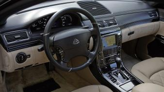 Cars interior maybach zeppelin wallpaper