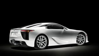 Cars lexus lfa white wallpaper