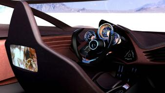 Cars mazda interior concept art Wallpaper