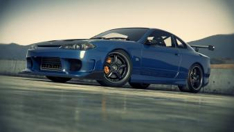 Cars parking digital art vehicles nissan silvia s15 wallpaper