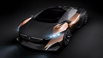 Cars peugeot concept art onyx wallpaper