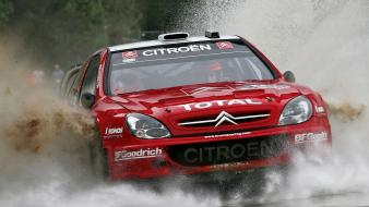 Cars races citroën splash car xsara wrc wallpaper