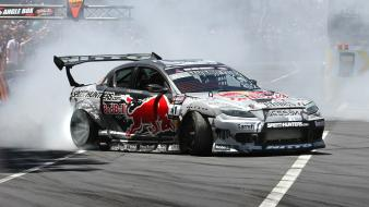 Cars smoke mazda drift Wallpaper