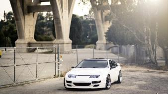 Cars tuning nissan 300zx rims white tuned stance Wallpaper