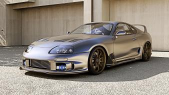 Cars vehicles wheels garages toyota supra wallpaper