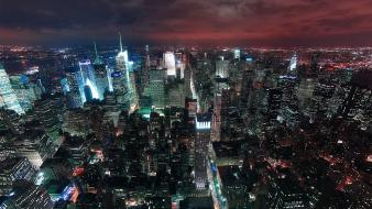 Cityscapes new york city citynight wallpaper