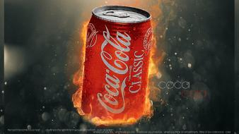 Coca-cola cocaine soda cans cansern wallpaper