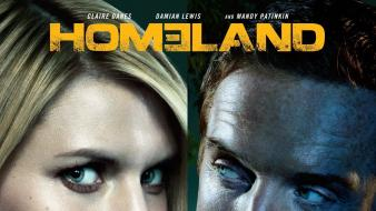 Damian lewis homeland carrie mathison nicholas brody wallpaper