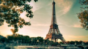 Eiffel tower paris architecture scales skyscapes chemtrails wallpaper