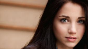 Eyes teen long hair faces emily rudd wallpaper