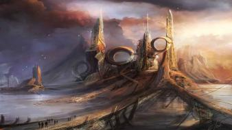 Fantasy art artwork christian quinot wallpaper
