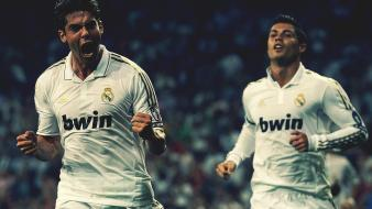 Kaka cristiano ronaldo football stars real madrid cf wallpaper