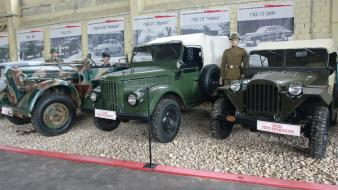 Military cars soviet old gaz uaz offroad russian wallpaper