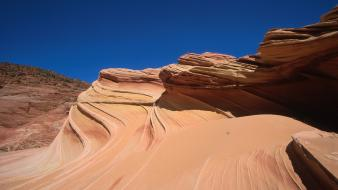 Nature desert rock formations wallpaper