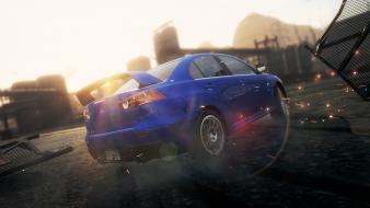Need for speed most wanted 2 mitsubishi wallpaper