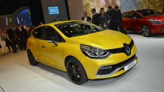 Paris cars renault clio rs auto wallpaper