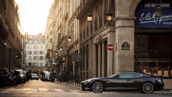 Paris streets buildings cities aston martin wallpaper