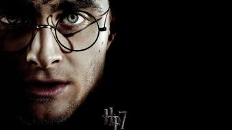 Potter and the deathly hallows daniel radcliffe wallpaper