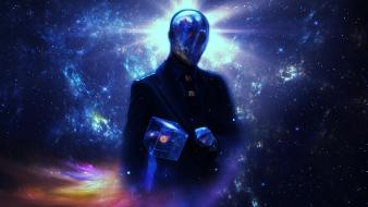 Science fiction mysterious cosmic game wallpaper