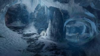 Snow spartan frozen halo 4 multiplayer iv wallpaper