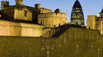 Streets england tower of london st. mary axe wallpaper