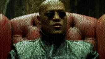 Sunglasses morpheus armchairs artwork laurence fishburne photomosaic wallpaper