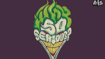 Text the joker funny faces why so serious? wallpaper
