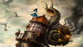 Video games alice madness returns wallpaper