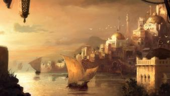 Video games anno 1404 wallpaper