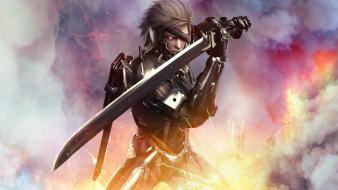 Video games artwork warriors metal gear solid rising wallpaper