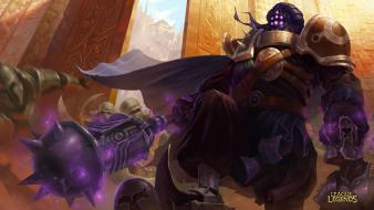 Video games league of legends artwork jax wallpaper