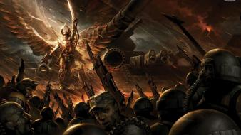 Video games warhammer imperial guard 40,000 Wallpaper