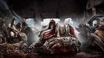 War darksiders horsemen of apocalypse wallpaper
