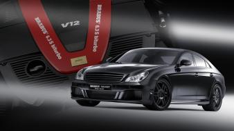 2006 brabus rocket speed mercedes benz engine wallpaper