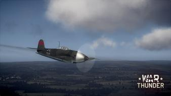Aircraft world war ii thunder ruhr Wallpaper