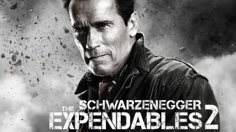 Arnold schwarzenegger the expendables 2 movies wallpaper