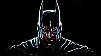 Batman fractalius superheroes wallpaper
