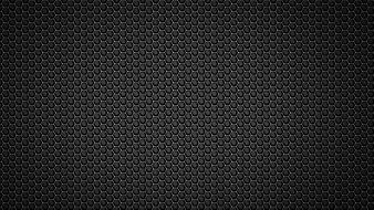 Black metal textures mesh honeycomb wallpaper
