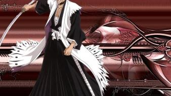 Bleach zaraki kenpachi swords wallpaper