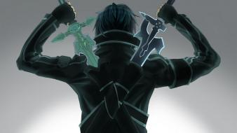 Boys swords sword art online kirigaya kazuto wallpaper