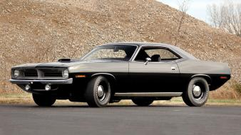Cars 1970 widescreen cuda wallpaper